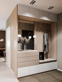 Room Design Bedroom, Home Room Design, Dining Room Design, Home Interior Design, Interior Architecture, Home Entrance Decor, House Entrance, Home Decor Shelves, Dressing Room Design