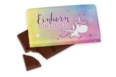 *Kleine Schokolade für Dich*Einhorn Schutzengel*