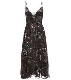 Valentino - Printed silk dress - Valentino's silk dress is printed in a…