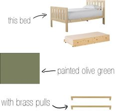 DIY big girl bed