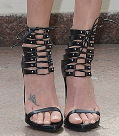 Charlize Theron in Alexandre Vauthier sandals