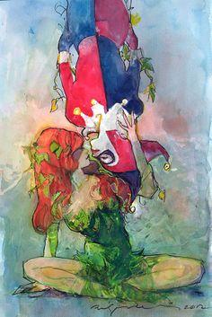 Harley & Ivy by Bill Sienkiewicz