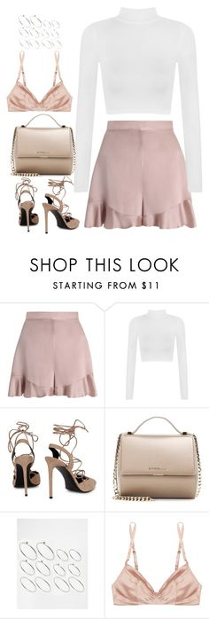 """Untitled #4531"" by fashionnfacts ❤ liked on Polyvore featuring Zimmermann, WearAll, Yves Saint Laurent, Givenchy, ASOS and Rituel by Carine Gilson"