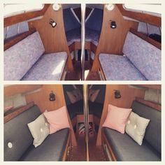 Båden før og efter