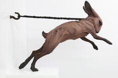 Dynamic Sculptures of Animals Represent Human Psychological Portraits - My Modern Met
