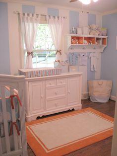 Vivienne's Blush, Grey and Aqua Nursery | Project Nursery