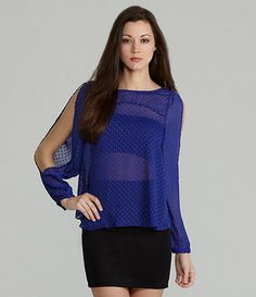 Available at Dillards.com #Dillards Bcbgeneration, Dillards, Cool Style, Tunic Tops, Blouse, Long Sleeve, Sleeves, Awesome, Women