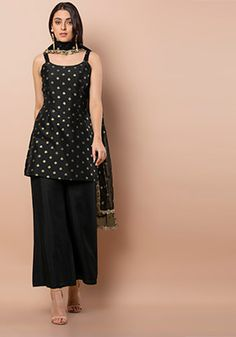 Indian Designer Wear - Online Fashion Shopping Site for Women - Indya Party Wear Indian Dresses, Designer Party Wear Dresses, Indian Bridal Outfits, Kurti Designs Party Wear, Dress Indian Style, Indian Fashion Dresses, Lehenga Designs, Indian Designer Outfits, Designer Clothing