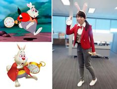 I'm Late {Last Minute Halloween Costume} White rabbit from Alice in wonderland
