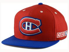 Montreal Canadiens Reebok NHL Chase Vintage Snapback Cap 18872481cdff