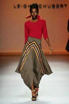 Editor's #Style Picks - #Africanfashion on the runway. #ZenMagazine | http://zenmagazineafrica.com/  Fashion by Leigh Schubert