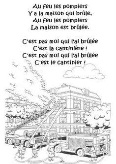 La maternelle de Laurène: Au feu les pompiers !