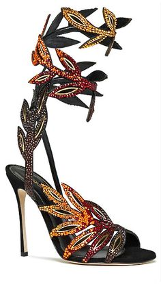 These are one million percent my Dancing With the Stars moment shoes.  Sergio Rossi, Spring 2014