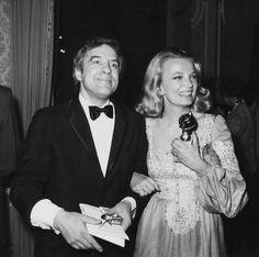 John Cassavetes et Gena Rowlands à Los Angeles en janvier 1975