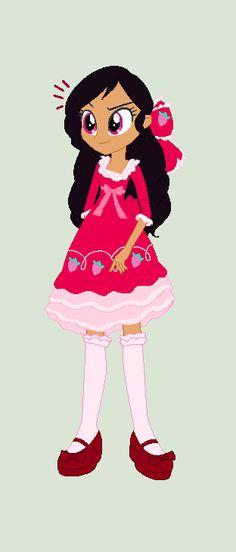 Strawberry's Classic strawberry lolita dress by Obeliskgirljohanny.deviantart.com on @DeviantArt
