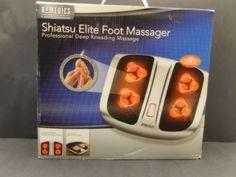 Homedics Shiatsu Elite Foot Massager W/Heat FMS-200H      $38.97       3015 #Homedics