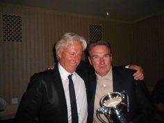 Bjorn Borg and Jimmy Conners 2013