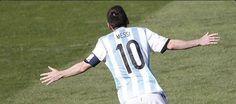 La partita di Messi, pallone per pallone, in Argentina-Iran #WorldCup2014 #Brazil2014