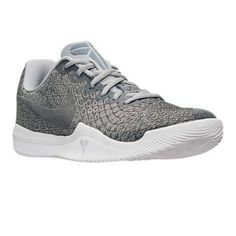 ad5b91569b9c Men Nike Kobe Mamba Instinct Basketball Shoes 852473 002 Pure Platinum Grey  White - Click Image to Close