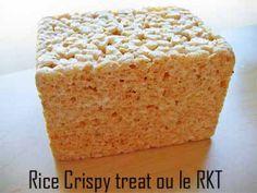 C'est Maman qui l'a fait – CROUSTILLANT A MODELER RECETTE & VIDEO CRAM RKT Rice Krispies Treat