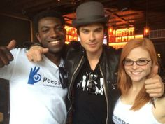 Ian Somerhalder - 08/03/14 - #startaryot #unpretentiousparty iansomerhalder thanks for the #PeepYoSelf. Party w. Us anytime! @sxswp COED @SXSW http://pic.twitter.com/M0aHCH6ToT - Twitter  Instagram Pictures