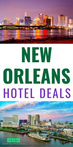 New Orleans is a fantastic travel destination! It's such a fun place to visit. From delicious food (like beignets) to jazz music to Voodoo and ghost tours to so much more - there are so many great things to do! Are you planning a trip to New Orleans, Louisiana? Then you need to see these hotel deals! This is a great way to save a lot of money on a hotel stay in the Big Easy. Southern USA travel advice for staying under your budget. #NOLA #NewOrleans #Travel #TravelDeals Vacation Deals, Travel Deals, Travel Usa, Travel Destinations, New Orleans Hotels, New Orleans Travel, Ghost Tour, Bourbon Street, Hotel Stay