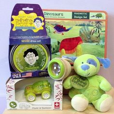 We love green and we know you do too! Go Green with our GREEN gift selection!