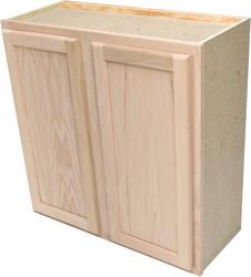 Best Quality One 36 X 30 Unfinished Oak Standard Wall Cabinet 640 x 480