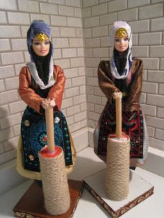 Turkish-Traditional-Handmade-Cloth-Doll-With-National-Costume-Vintage-Cloth-Doll