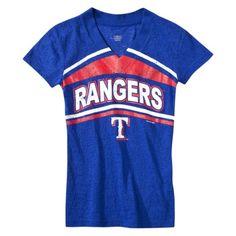 Girls' Texas Rangers shirt