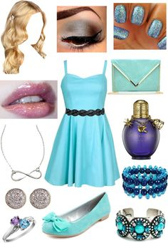 """A winter school dance :)"" by kimduarte ❤ liked on Polyvore"