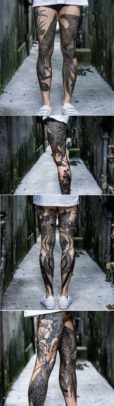 Amazing Leg Tattoo Ideas For Girls Trending 2017 – Leg Tattoos Tatto Ink, Tatoo Art, Back Tattoo, Miami Ink Tattoos, Body Art Tattoos, Sleeve Tattoos, Phoenix Tattoos, Bird Tattoos, Elephant Tattoos