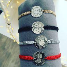 Photo engraved bracelets Your photo is now a unique bracelet #Ingriko #photo #bracelet #photoengraved #uniquebracelet #handmade