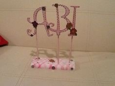 Letras para mesa de dulces