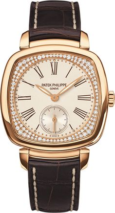 7041R-001 Patek Philippe Gondolo Women's 18K Rose Gold Watch | WatchesOnNet.com