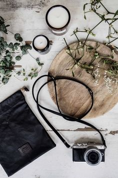 My camera accessories collab! With @mimiberryshop #mimixstylonylon handmade vegetable tanned leather camera straps, camera pouches for small cameras & compacts eg. Olympus Pen F, E-PL7, E-PL8