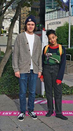 #everythingeverything Maddy and olly ❤ Amandla and Nick