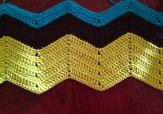 SUPER easy and very detailed pattern that makes a fast baby blanket. Great for beginners!