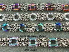 Cosmic Ring Byzantine Bracelet Kit -Stainless