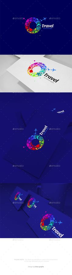 Travel Logo Template Vector EPS, AI Illustrator. Download here: https://graphicriver.net/item/travel-logo/17532615?ref=ksioks