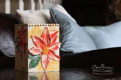 Specialty Wine Box - Poinsettia - Item #27B