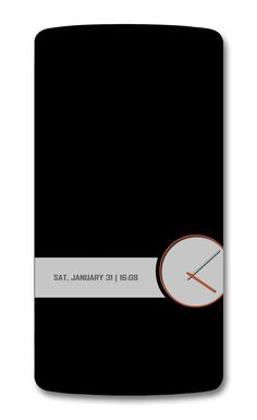Super minimal #Android home screen on #xda. Love this!