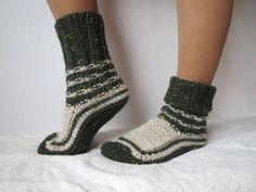 SALE! Hand Knit Socks Slippers