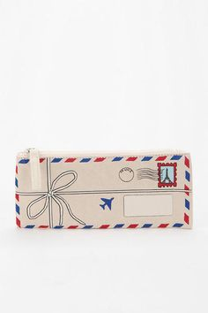 Trompe L'Oeil Pencil Case from Urban Outfitters