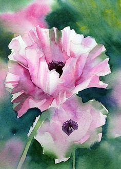 Floral Painting by artist Ann Mortimer.