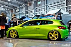 Lime Green VW Scirocco - Ahhh this is HOT!!!