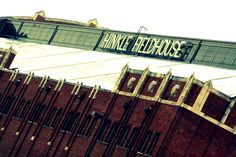 Historic Hinkle Fieldhouse, home of the Butler University Bulldogs Butler Basketball, College Basketball, East Chicago, Butler Bulldogs, Butler University, Alma Mater, Travel Bugs, Indiana, Places Ive Been