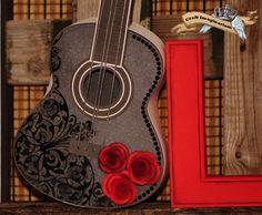 Guitar & roses