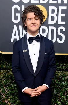 Gaten Matarazzo at the 2018 Golden Globes
