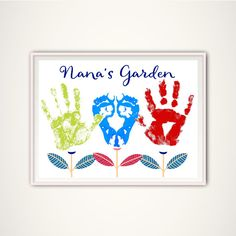 Nana Gift Gifts for Nana from Grandkids by FromTheRookery on Etsy